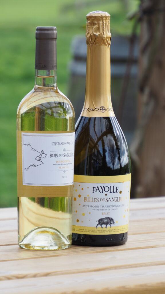 Nieuwe wijnen Château de Fayolle